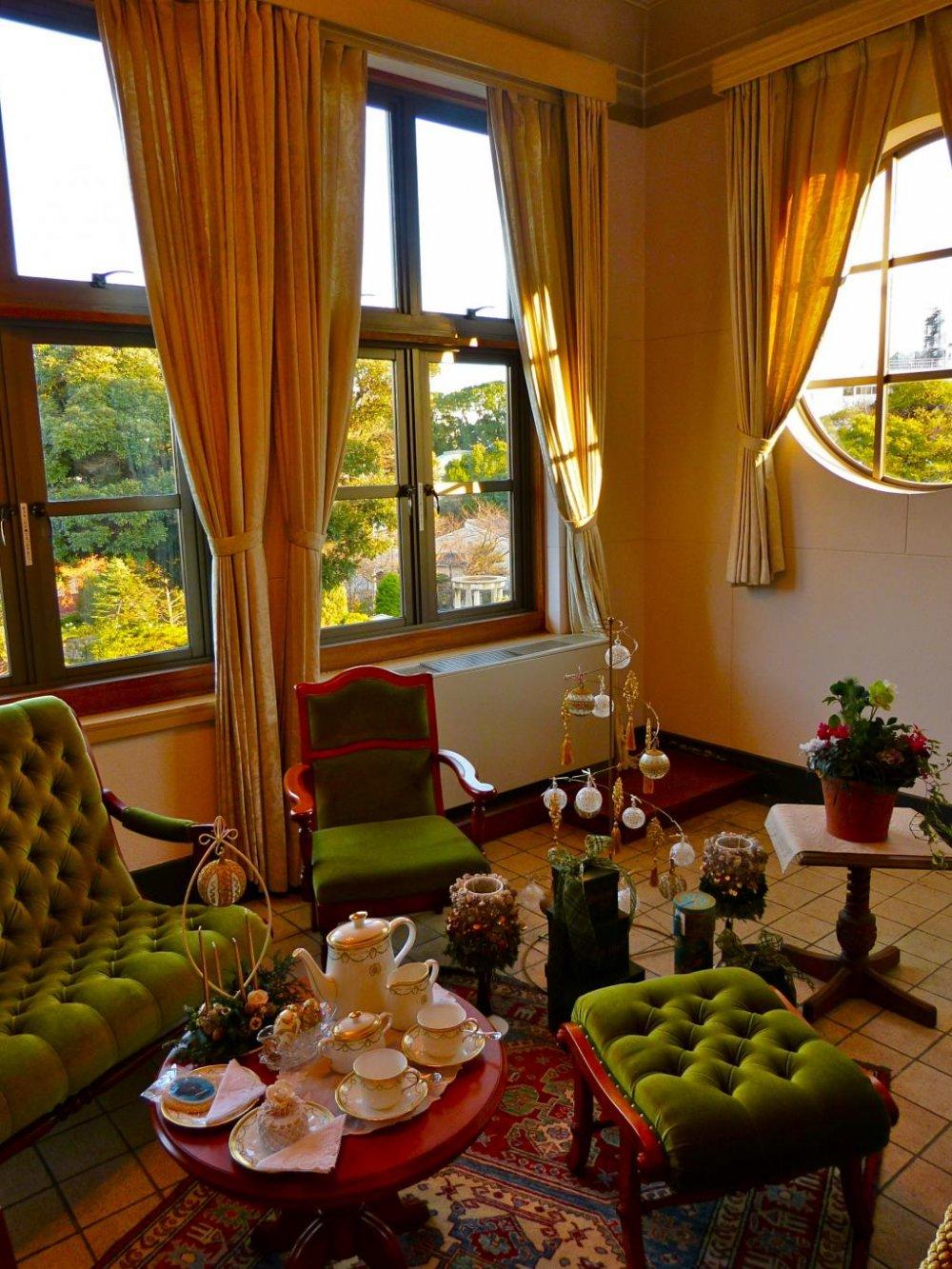 Phòng trà tại tầng 2