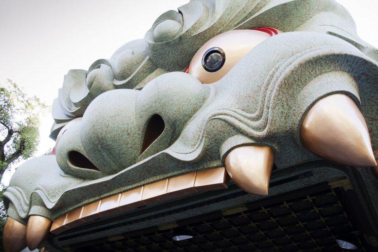 Le Sanctuaire Namba Yasaka à Osaka