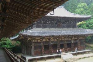 Himeji Castle and Engyoji Temple