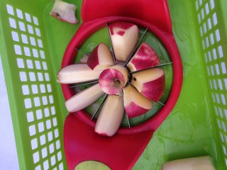 An apple cutter
