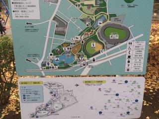 인근지역 지도