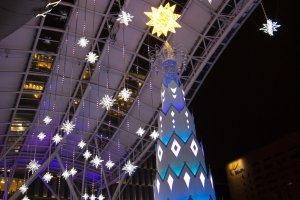 A beautiful Christmas tree of light!