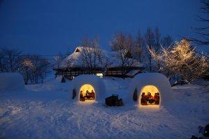 Merayakan Musim Dingin di Akita