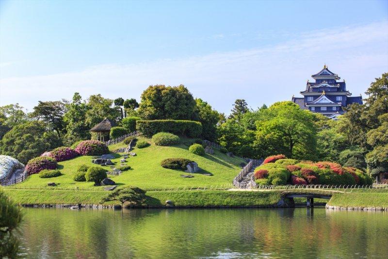 Okayama korakuen garden okayama japan travel tourism for Le jardin korakuen
