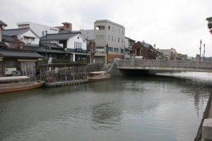 Каналы вокруг города Мацуэ