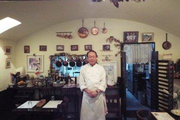 Chef Tsuneo Okuhira Bistro Furaipan