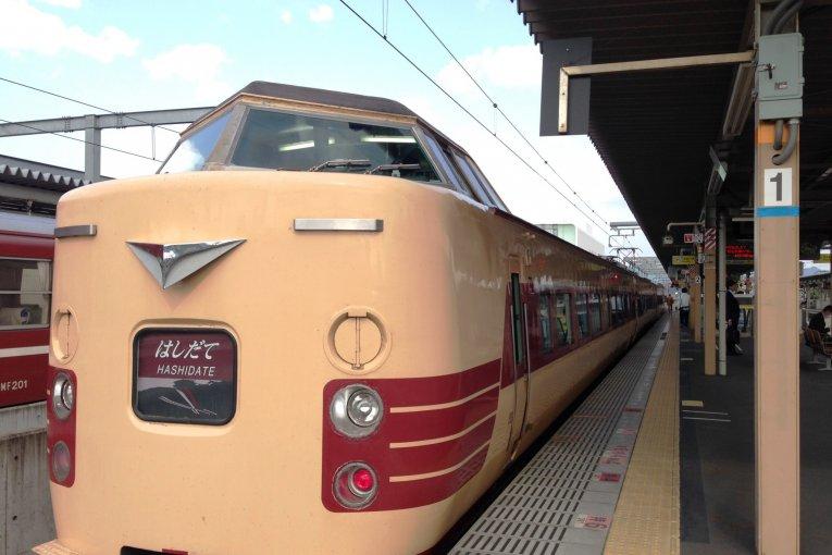 Amanohashidate to Kobe by Train