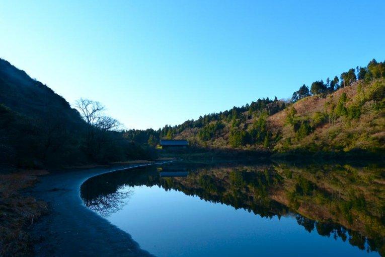 Hakone's Shojin-ike Pond