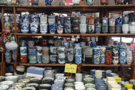 Salon de la céramique à Arita
