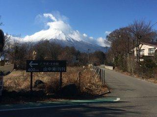 منظر جبل فوجي من أماكن مختلفة