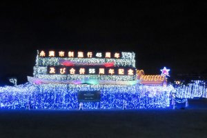 Merayakan natal di Okinawa