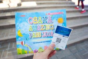 L'Osaka Day Pass couvre les déplacements en train et en bus et vous octroie l'entrée gratuite à la plupart des attractions touristiques d'Osaka