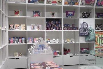 <p>The souvenir shop</p>