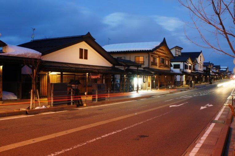 Phố Bokushi ở Shiozawa