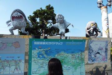 Just outside Sakaiminato Station