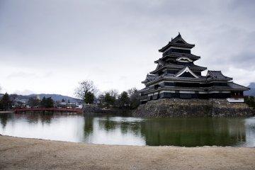 Views of Matsumoto Castle