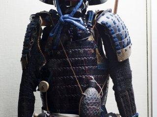 A suit of samurai armor