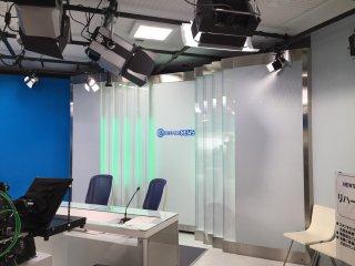 Le studio du journal télévisé : lancez vous !