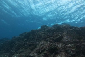 What's underwater....5-6m down