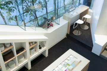 Another view of the Agora Place lobby