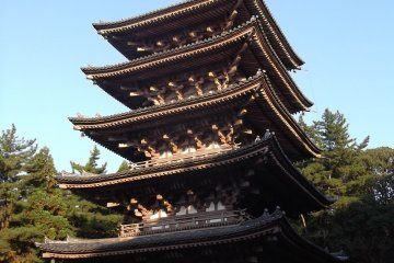 The five-storied pagoda