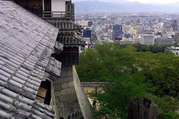Fantastic views over Matsuyama