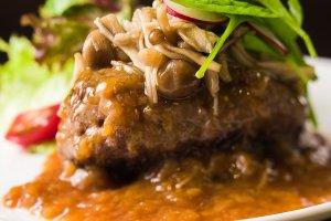 Home made Stewed Hamburger Steak