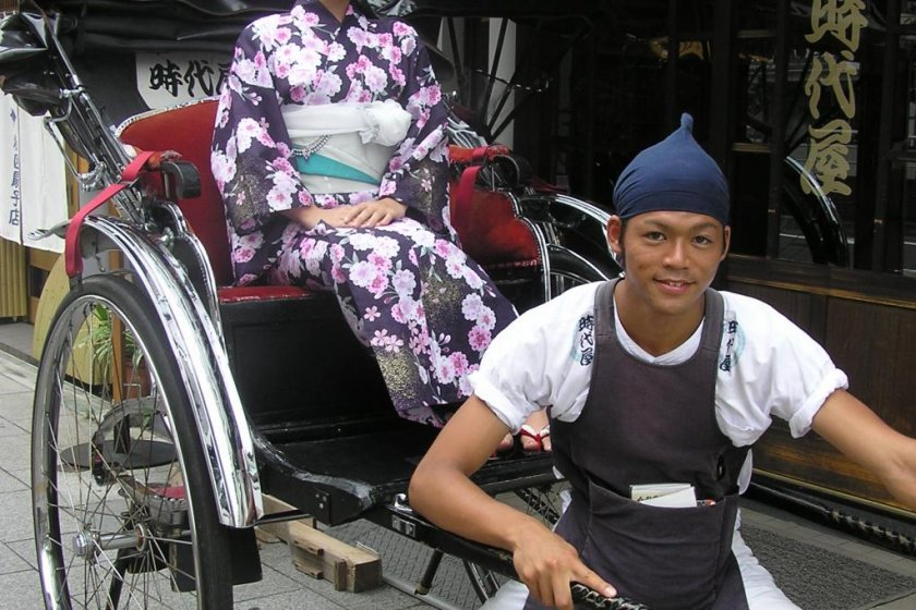The heart of the rickshaw man