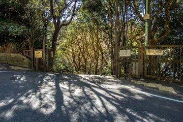 Le Parc Sannzagaike de Kamakura