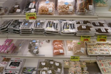 Local fish and tofu