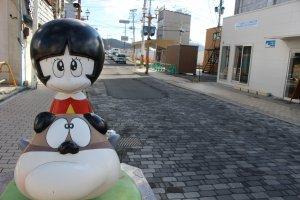 Outside on the Manga Road