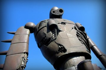 The life-sized robot from Laputa (Castle in the Sky) is stunning