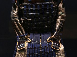 Traditional armor with special headgear