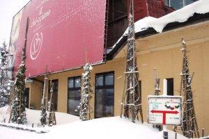 Entrance to Il-che-cciano cafe