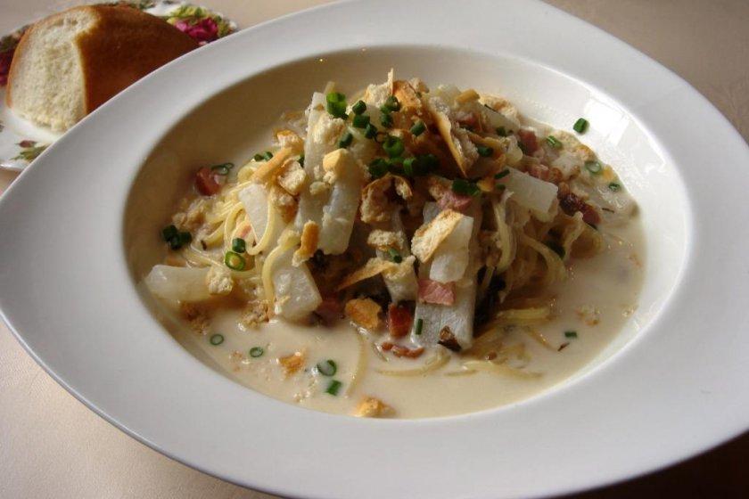 Pasta is the main dish in course A at Al-che-cciano