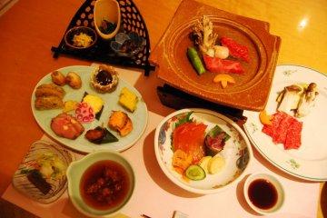 Dinner at Zao Shiko Hotel