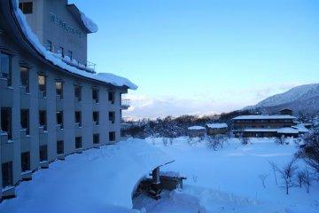 Zao Shiko Hotel in Zao Onsen
