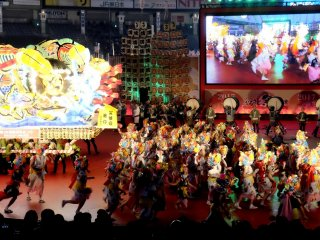 A sample to enjoy the Nebuta Matsuri