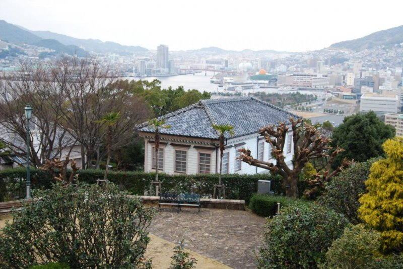 Possibly the first Western-style houses in Japan were built in Nagasaki