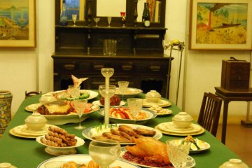 Splendid dining room view