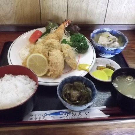 Uo-Ei Restaurant in Ooya