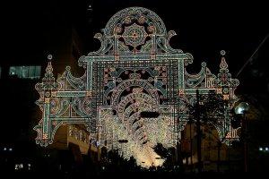 Ánh sáng lung linh của lễ hội