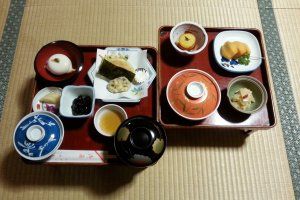 Temple dinner