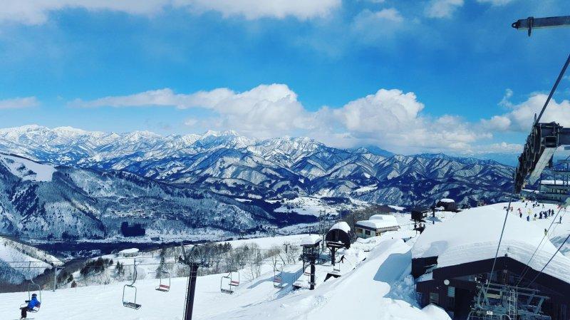 Вид с подъемника Alpen Quad