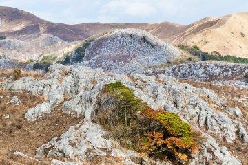 Senbutsu lies beneath the Hiraodai Karst Plateau