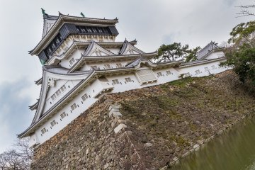 Kokura Castle's tenshukaku, or main keep