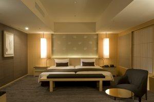 Bedroom in The Capitol Suite