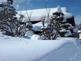 Suasana di luar, Cheikeiken di hari yang dingin di bulan Februari