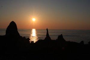 Sunset in Oki