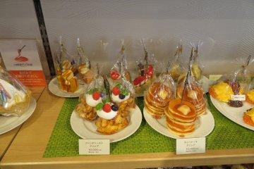 Магазин искусственной еды Ganso